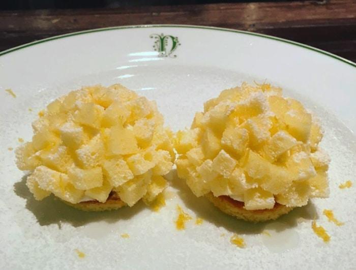 Mini torte mimosa da porzione